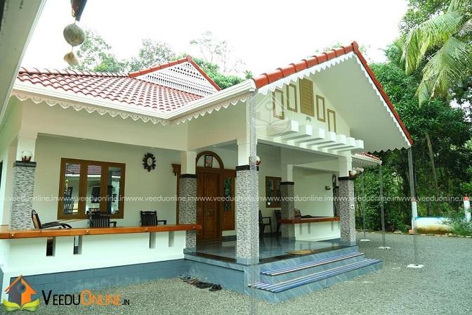 1570 Square Feet Single Floor Traditional Home Design